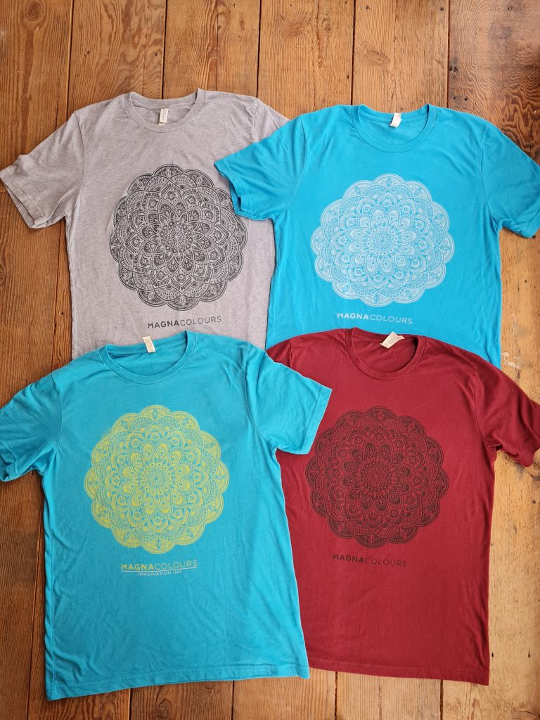 burn out printing on tshirts